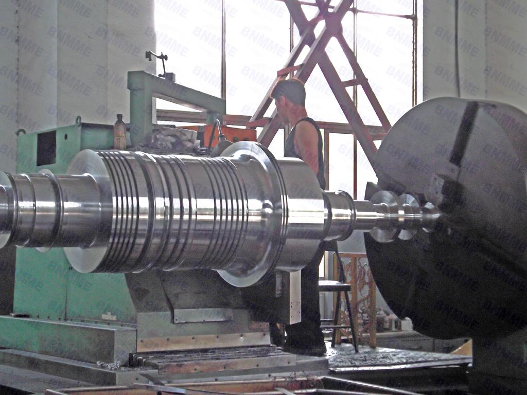 фото ротора турбины пришивная